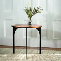 Triton End Table by Katy Skelton for Charleston Forge in room