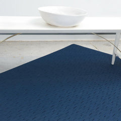 Chilewich Bamboo Woven Floor Mat with Bench