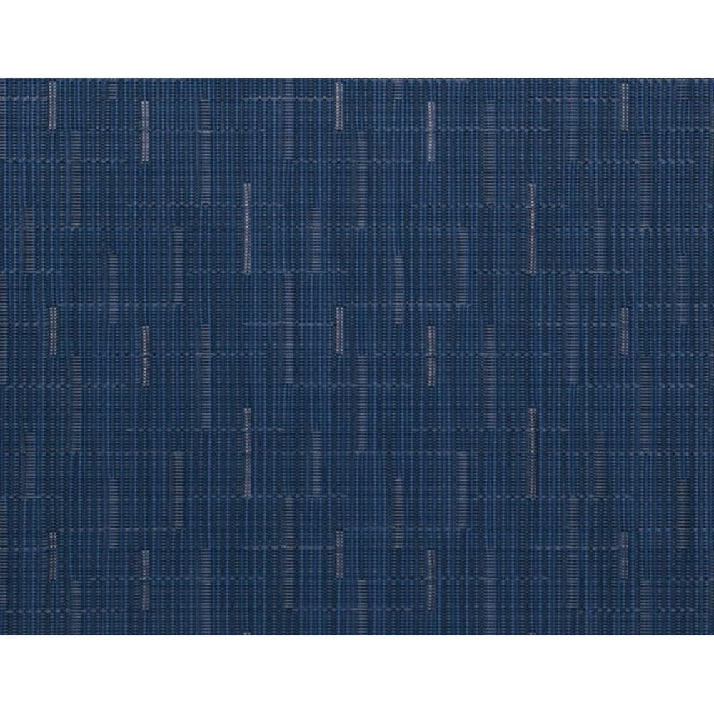 Chilewich Bamboo Woven Floor Mat in Lapis