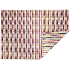 Chilewich Heddle Floor Mat Pansy