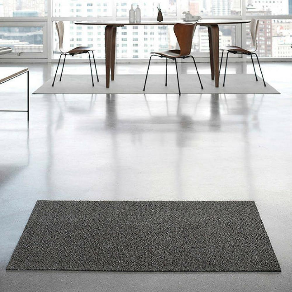 Indoor Outdoor Solid Shag Floor Mat Chilewich Palette Parlor