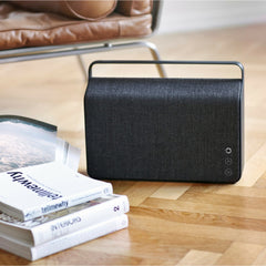 Vifa Copenhagen Soundspeaker with Kvadrat Anthracite Grey Textile