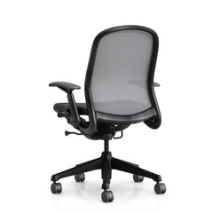 Don Chadwick Office Chair Silver Backside Knoll