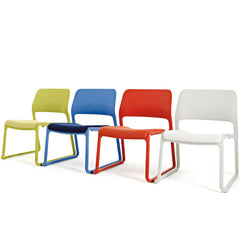 Don Chadwick Spark Lounge Chairs 4 Colors Diagonal Knoll