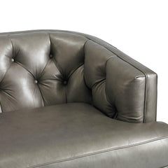 Precedent Emma Sofa Leather Detail