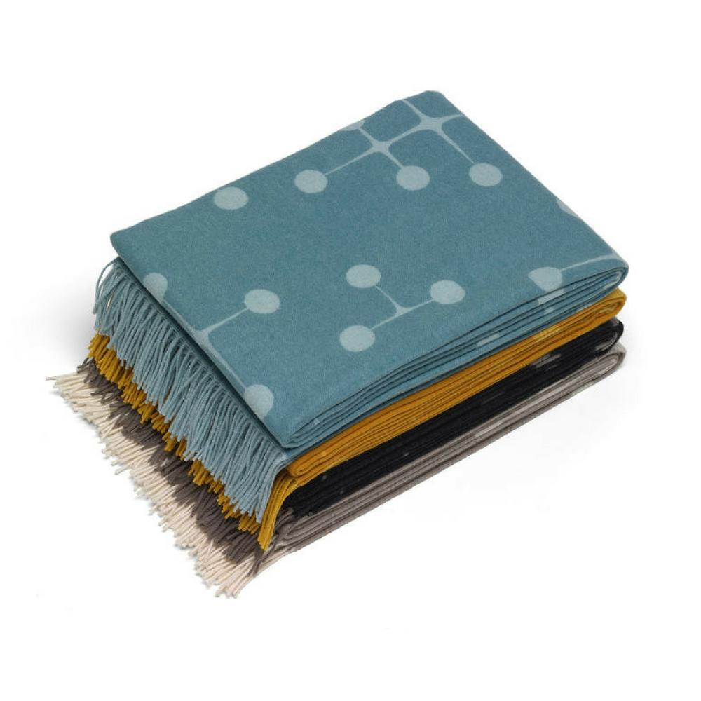 Eames Wool Dot Pattern Blankets