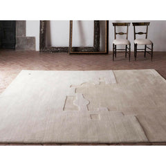 Eduardo Chillida Gravitación 1994 Wool and Silk rug by NaniMarquina in Room