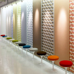Eero Saarinen Tulip Stools Knoll Textiles Collection