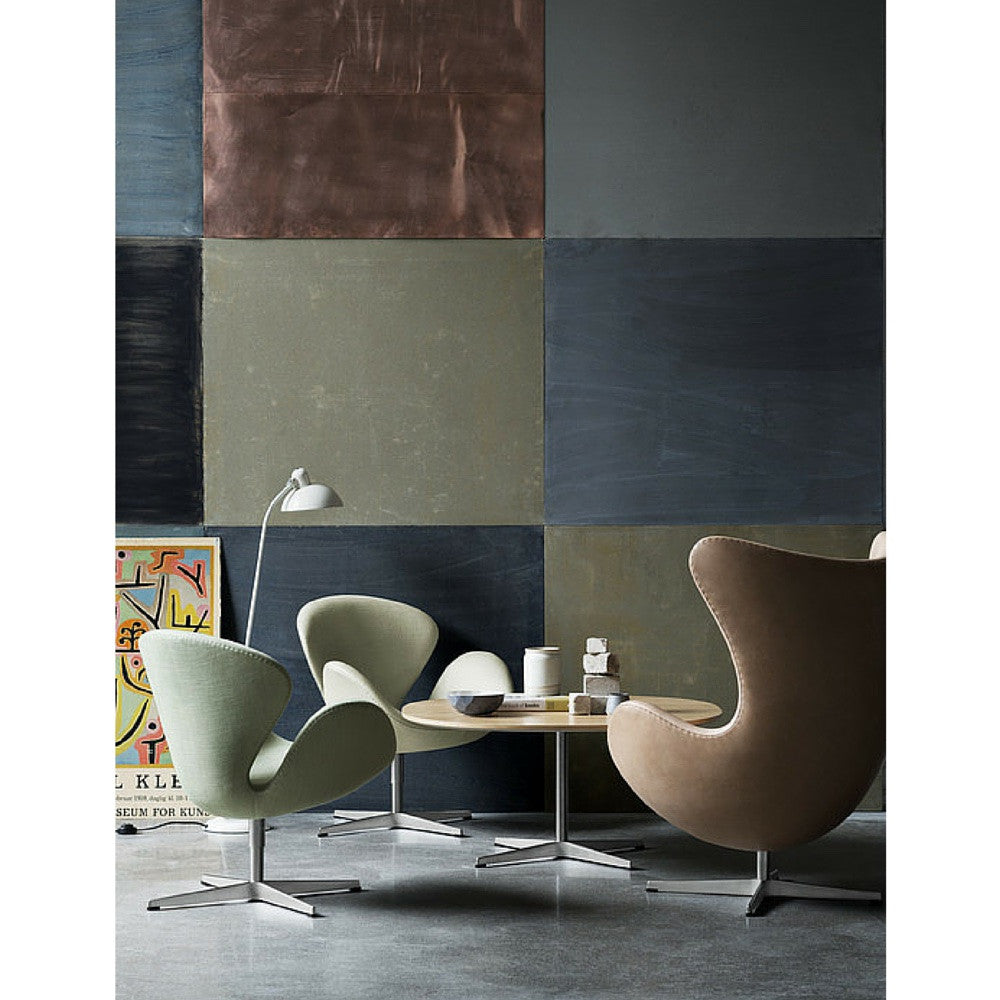 Egg and Swan Chairs Natural Leather Pale Green Wool Arne Jacobsen Fritz Hansen  sc 1 st  Palette u0026 Parlor & Arne Jacobsen Egg Chair | Fritz Hansen | Palette u0026 Parlor | Modern ...