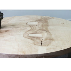 Elijah Leed Furniture Ibsen Coffee Table Bleached Maple Top Detail