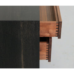 Elijah Leed Furniture Watson Credenza Drawer Dovetail Detail