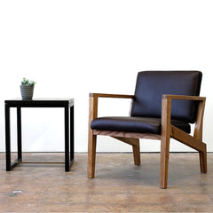 Elijah Leed Maxwell Lounge Chair with Taube Side Table