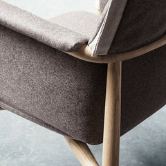 Details of Embrace Dining Chair by EOOS for Carl Hansen & Søn