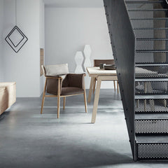 Embrace Dining Chair by EOOS with Extend Table by Strand + Hvass for Carl Hansen & Søn