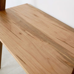 Enkle Designs Lene Desk Amrosia Maple Desktop Detail