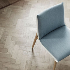 EO04 Embrace Dining Chair by EOOS for Carl Hansen and Son in Oak White Oil