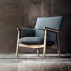 Eoos Embrace Lounge Chair in Room Carl Hansen and Son