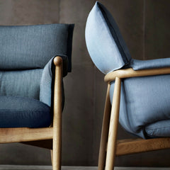 Eoos Embrace Lounge Chairs Detail Carl Hansen and Son