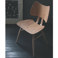 Ercol Butterfly Chair in Room with Art
