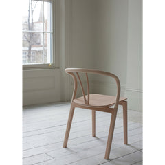 Ercol Flow Chair in Room Back View Tomoko Azumi