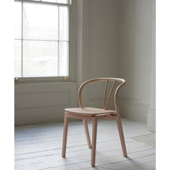 Ercol Flow Chair in Room Side View Tomoko Azumi