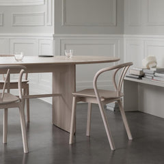 ercol Flow Chairs with Norm Architects Pennon Dining Table