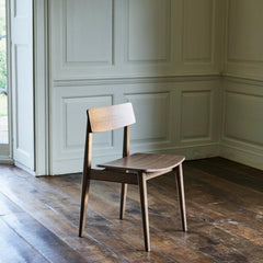 ercol Forma dining chair in room