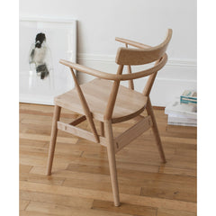Ercol Originals Holland Park Arm Chair in Room with Art