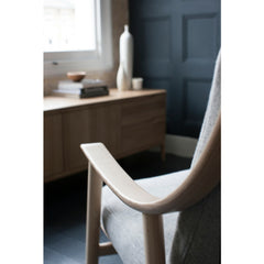 Ercol Marino Chair by Dylan Freeth Arm Detail