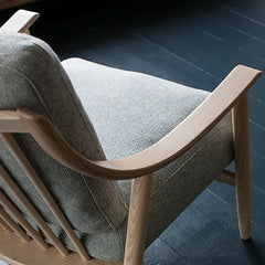 Ercol Marino Chair by Dylan Freeth Arm and Back Detail