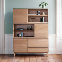 Ercol Modulo Storage Three Tier in Room