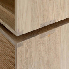Ercol Modulo Storage Oak Joinery Detail
