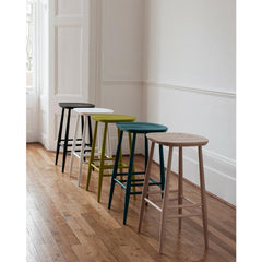 Ercol Originals Bar Stools in Room
