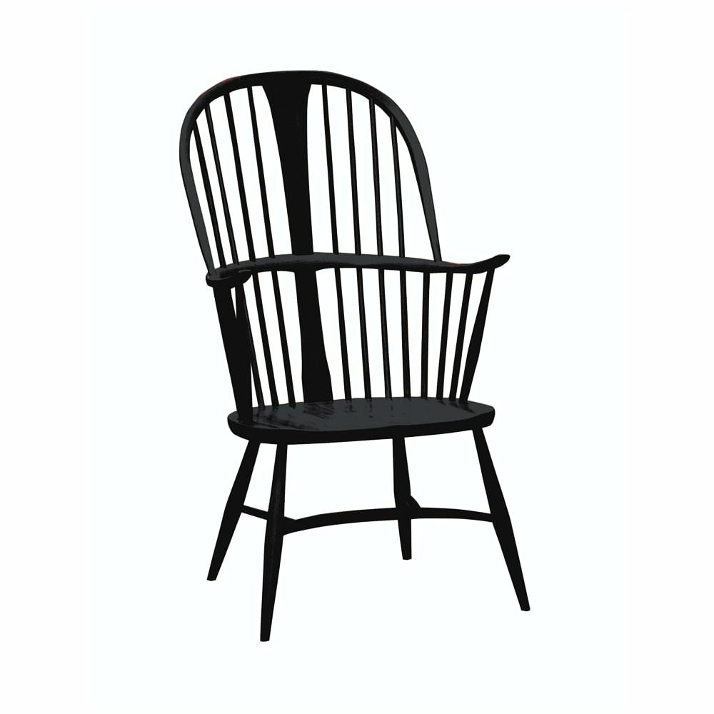 ercol Originals Chairmakers Chair Black