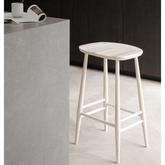 ercol Orginals Counter Stool in Whitened Ash in Kitchen