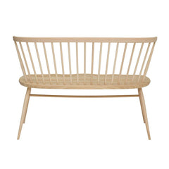 ercol Originals Loveseat Natural Ash Back