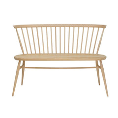 ercol Originals Loveseat Natural Ash Front