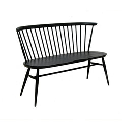 ercol Originals Loveseat Black Painted