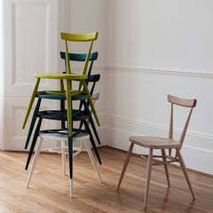 Ercol Originals Stacking Chairs in Room