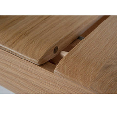 Ercol Romana Dining Table Wood Pin Detail