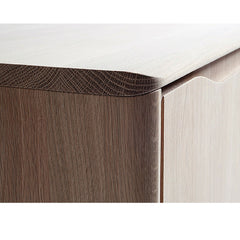Ercol Romana Infrared Media Cabinet Thumb Edge Detail