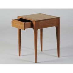Ercol Romana Side Table with Open Drawer