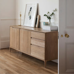 Ercol Romana Sideboard Large in Room