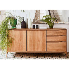 ercol Romana Sideboard large with plants