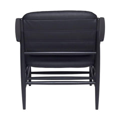 ercol Von Chair all black back