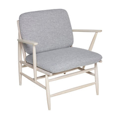 ercol Von Arm Chair in Ash with Grey Wool
