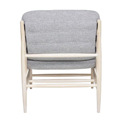 ercol Von Chair Ash with Grey Wool