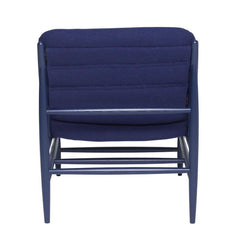 ercol Von Chair Indigo Blue Back