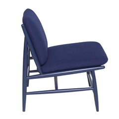 ercol Von Chair Indigo Blue Side