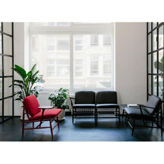 ercol Von Chairs in lobby reception